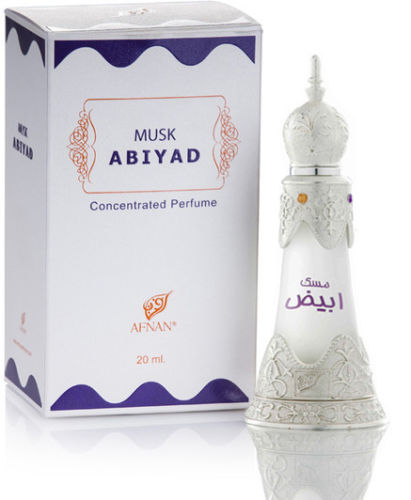 Musk Abiyad Afnan Perfumes for women and men 20ml