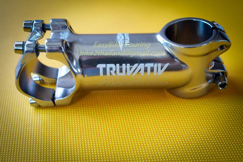 สเต็ม TRUVATIVE สีเงินไททาเนียม (Oversize)