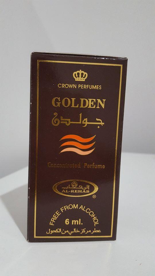 น้ำหอมอาหรับ Golden by Al rehab 6ml.