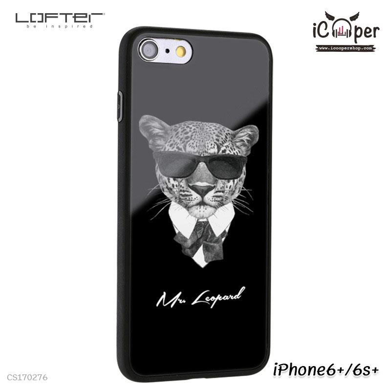 LOFTER Cartoon Mirror - Mr. Leopard (iPhone6+/6s+)