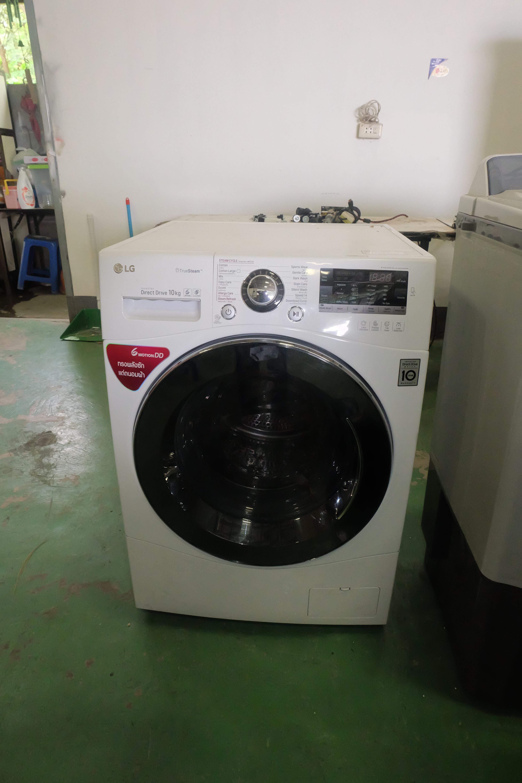 เครื่องซักผ้าฝาหน้าระบบ Turbo Wash™ ความจุ 10 กก. รุ่นF1410SPRW