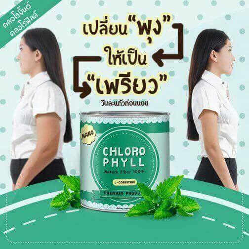 Chloro Mint Chlorophyll คลอโรมิ้นต์ คลอโรฟิลล์ หุ่นเพรียว ลดพุง ผิวใส ขับถ่ายง่าย