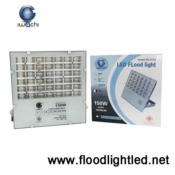 สปอร์ตไลท์ LED 150w ยี่ห้อ IWACHI (แสงขาว)