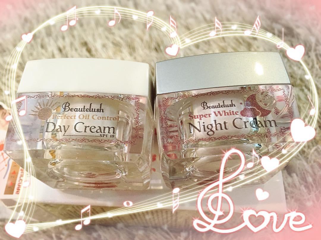 ครีมเจ้าหญิง Beautelush essential facial set (day + night)
