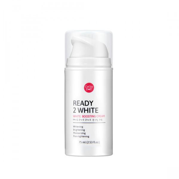 Ready 2 White White Boosting Cream 75 g. บูสติ้งครีม เร่งผิวขาว**