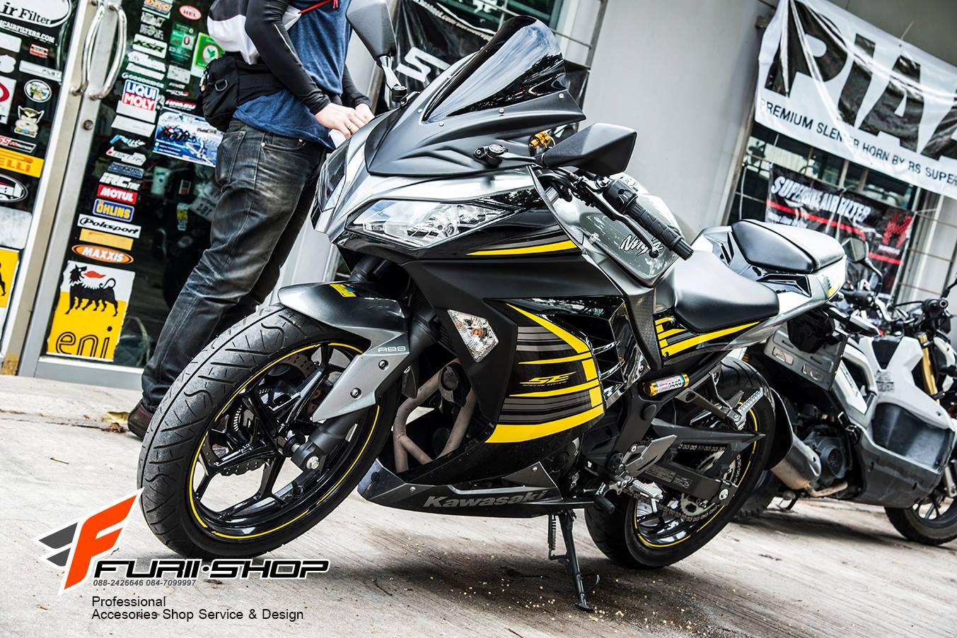 ชิวหน้า สำหรับ Kawasaki Ninja300