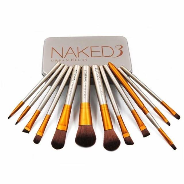 Product details of Naked3 แปรงแต่งหน้า 12ชิ้น