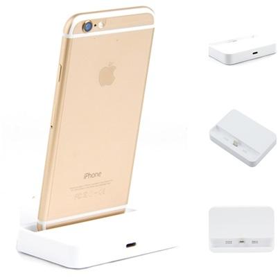 ที่วาง iPhone5/6/6plus พร้อมชาร์จได้ สีขาว