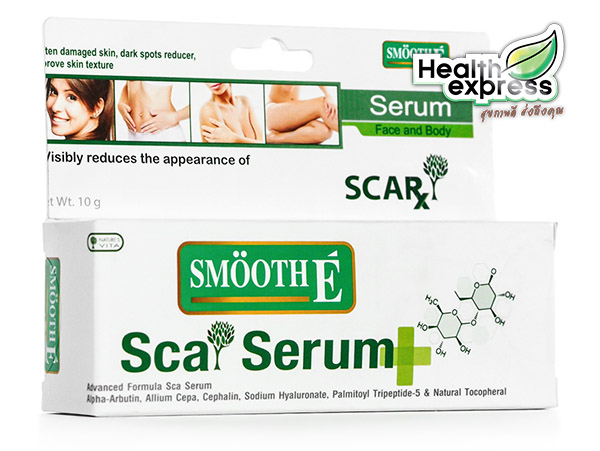 Smooth E Sca Serum Face and Body สมูท อี สกา เซรั่ม เฟซ แอนด์ บอดี้ ปริมาณสุทธิ 10 g.