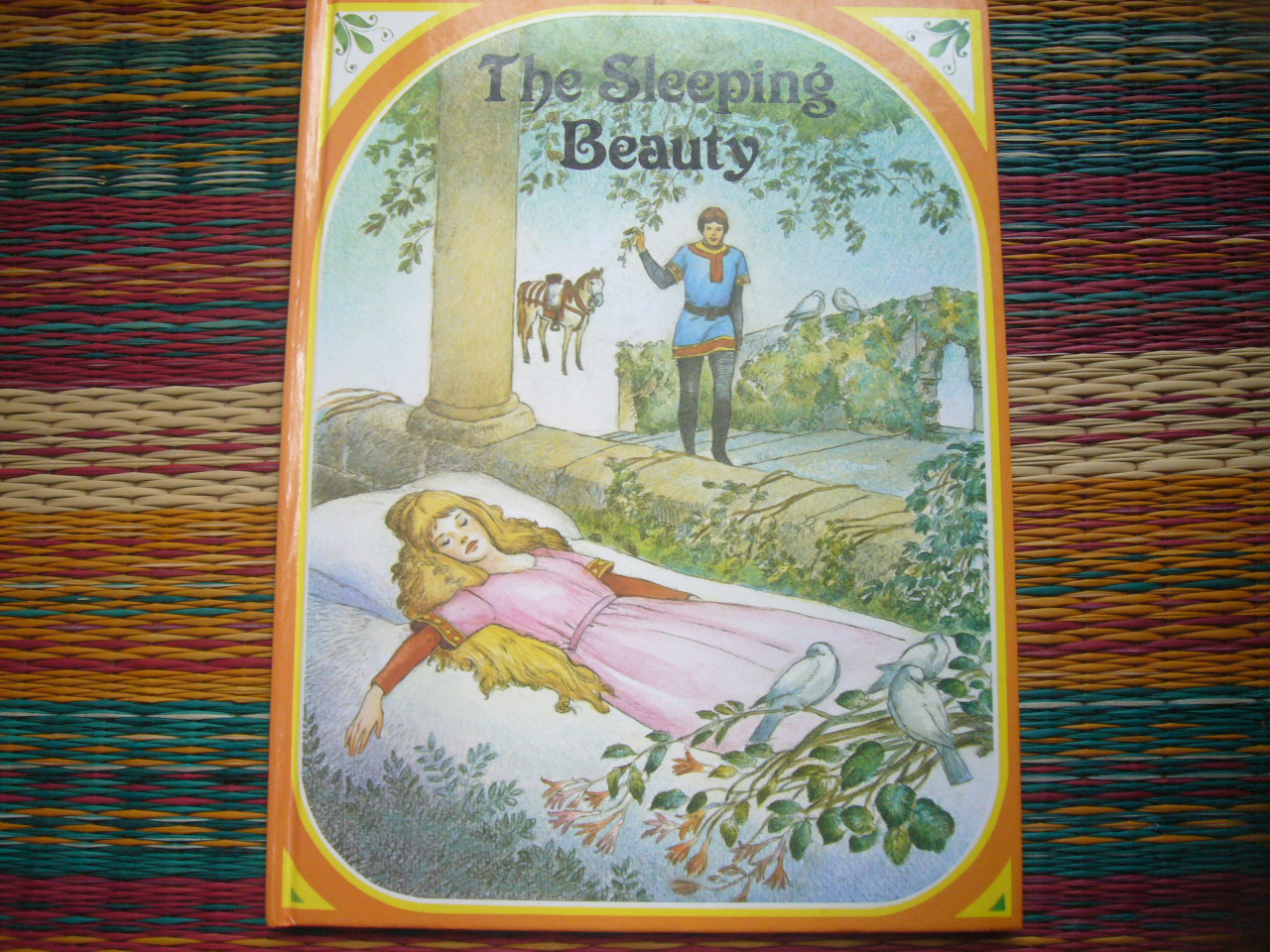 The Sleeping Beauty Retold by Jane Carruth Hardback 18Pages ราคา 100