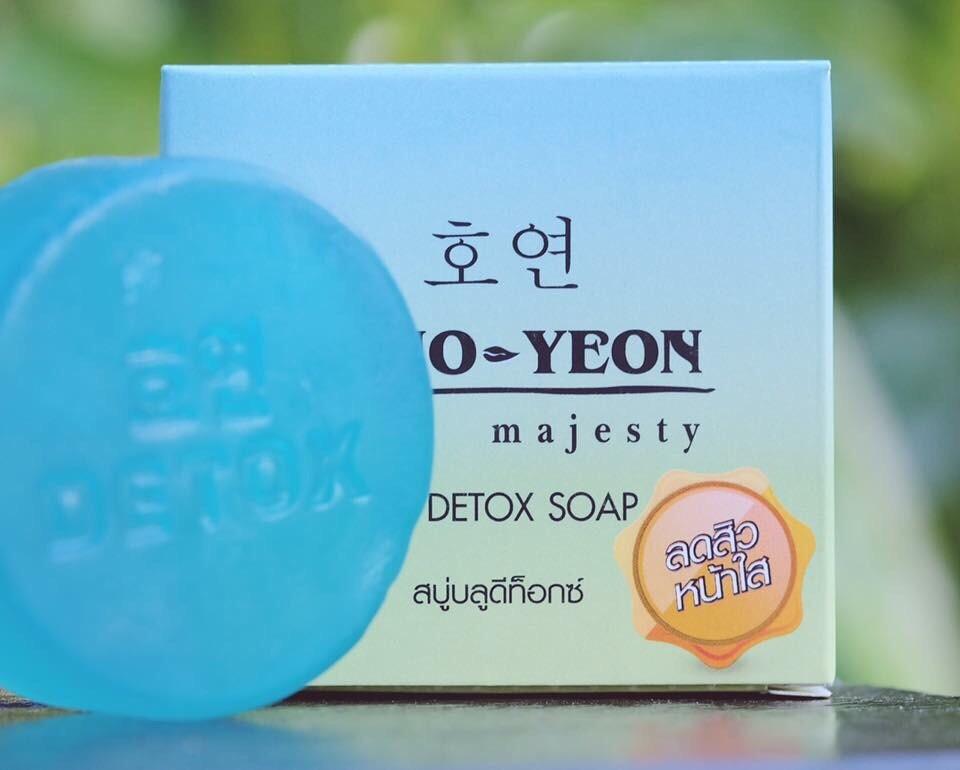 สบู่ดีท็อกซ์ ลดสิว Ho-Yeon Detox โฮยอน