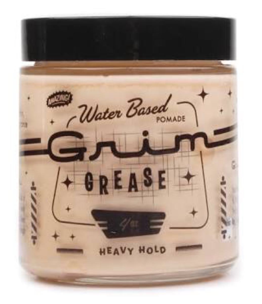 Grim Grease Pomade (Unorthodox Water-based Heavy Hold)