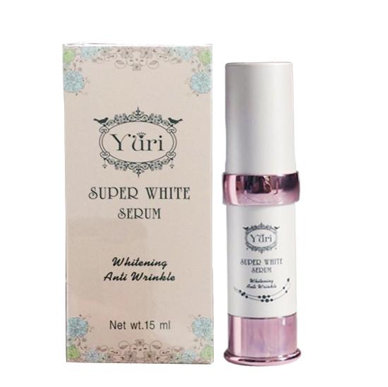 Yuri Super White Serum เซรั่มหน้าขาว