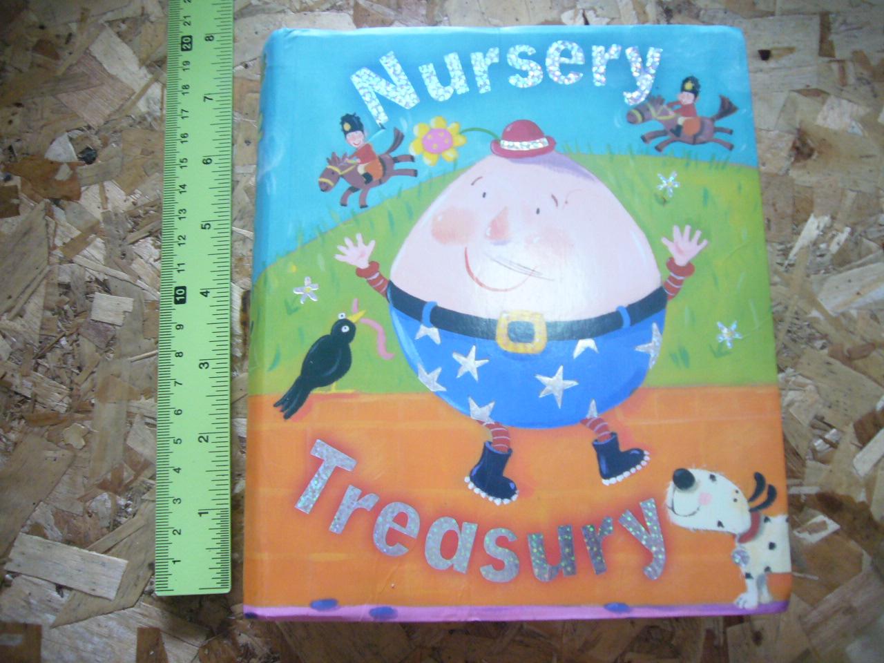 """NURSERY TREASURY (Height 6"""", Miles Kelly) Softback 512 Pages ราคา 220"""