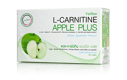 L-Carnitine Apple Plus(แอล-คาร์นิทีน แอปเปิ้ล พลัส)