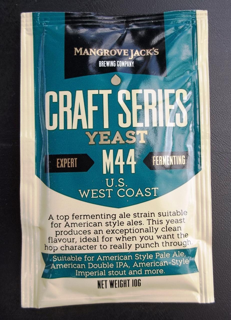 Mangrove Jack's - M44 U.S. WEST COAST ALE Double IPA Stout Dry Yeast