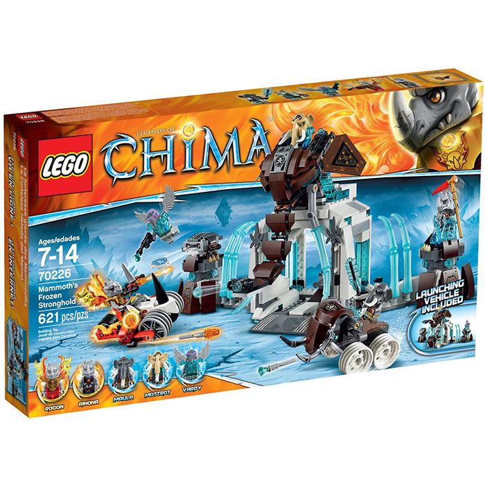 LEGO Chima 70226 Mammoth's Frozen Stronghold