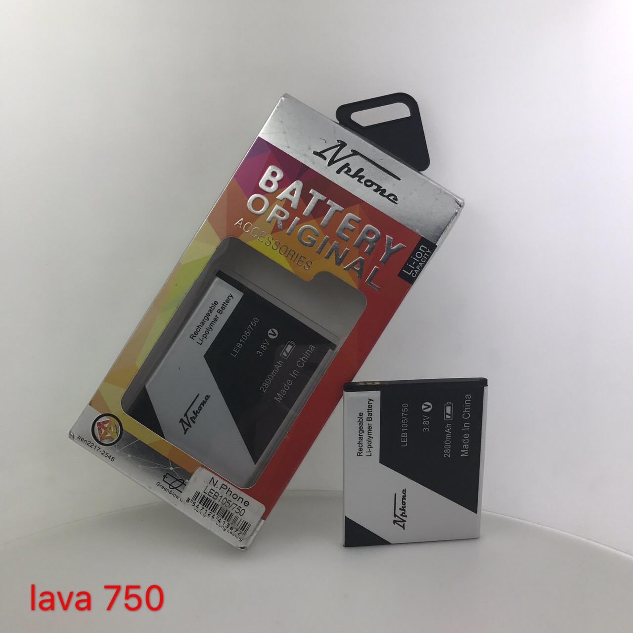 แบตเตอรี่ Lava 750 // LEB-105