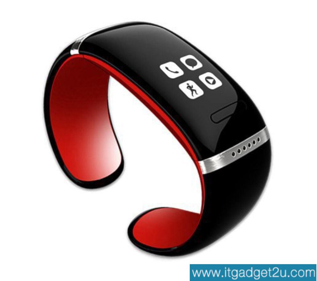 นาฬิกาโทรศัพท์ Bluetooth Smart Watch รุ่น L12S Bracelet Wrist สีแดง ปกติราคา 2,450 ลดเหลือ 1,490 บาท