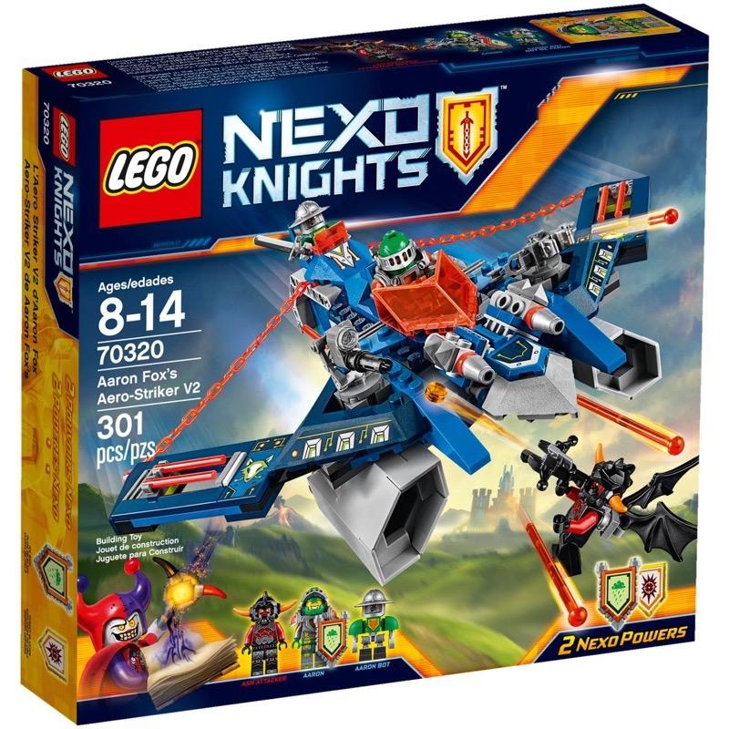LEGO Nexo Knights 70320 Aaron Fox's Aero-Striker