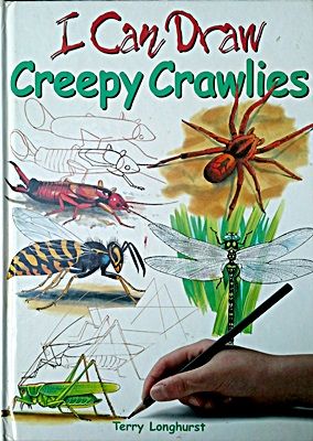 I can draw creepy crawlers
