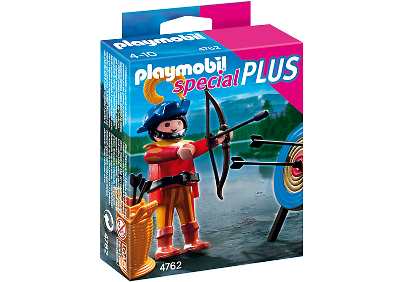 PLAYMOBIL 4762 Archer with Target