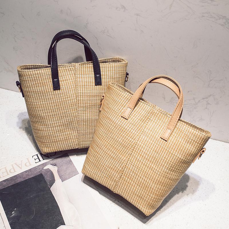 กระเป๋าฟางแฟชั่นเกาหลี