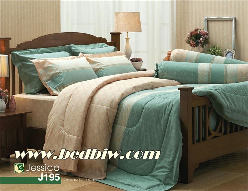 ชุดเครื่องนอน ผ้าปูที่นอน เจสสสิก้า JESSICA รุ่น J195