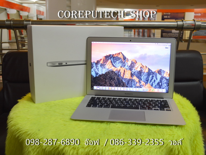 MacBook Air 13-inch Intel Core i5 1.6GHz. Ram 8 SSD 128 Early 2015.
