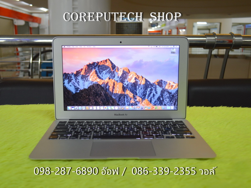 MacBook Air 11-inch Intel Core i5 1.6GHz. Ram 2 SSD 64 Mid 2011.