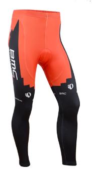 กางเกงปั่นจักรยาน ขายาว BMC สีดำแดง เป้าเจล (แอดไลน์ @pinpinbike ใส่ @ ข้างหน้าด้วยนะคะ)