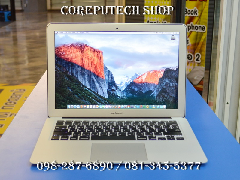 MacBook Air 13-inch Intel Core i5 1.4GHz.Ram 4 SSD 128 Ealy 2014.