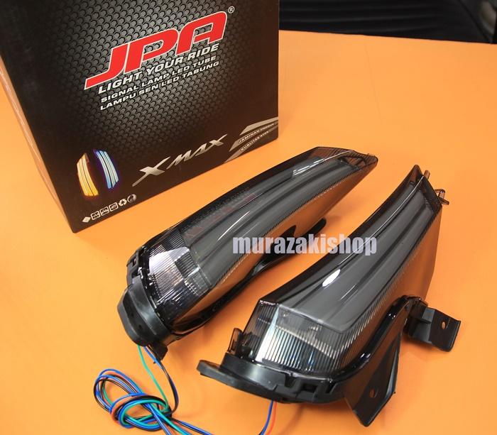 ไฟเลี้ยวหน้าพร้อมไฟหรี JPA YAMAHA X-MAX LED 2,400