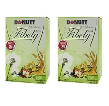 Donut Fibely Detox(โดนัท ไฟบิลี่ ดีท๊อกซ์) 2 กล่อง ๆ ละ 195 บาท