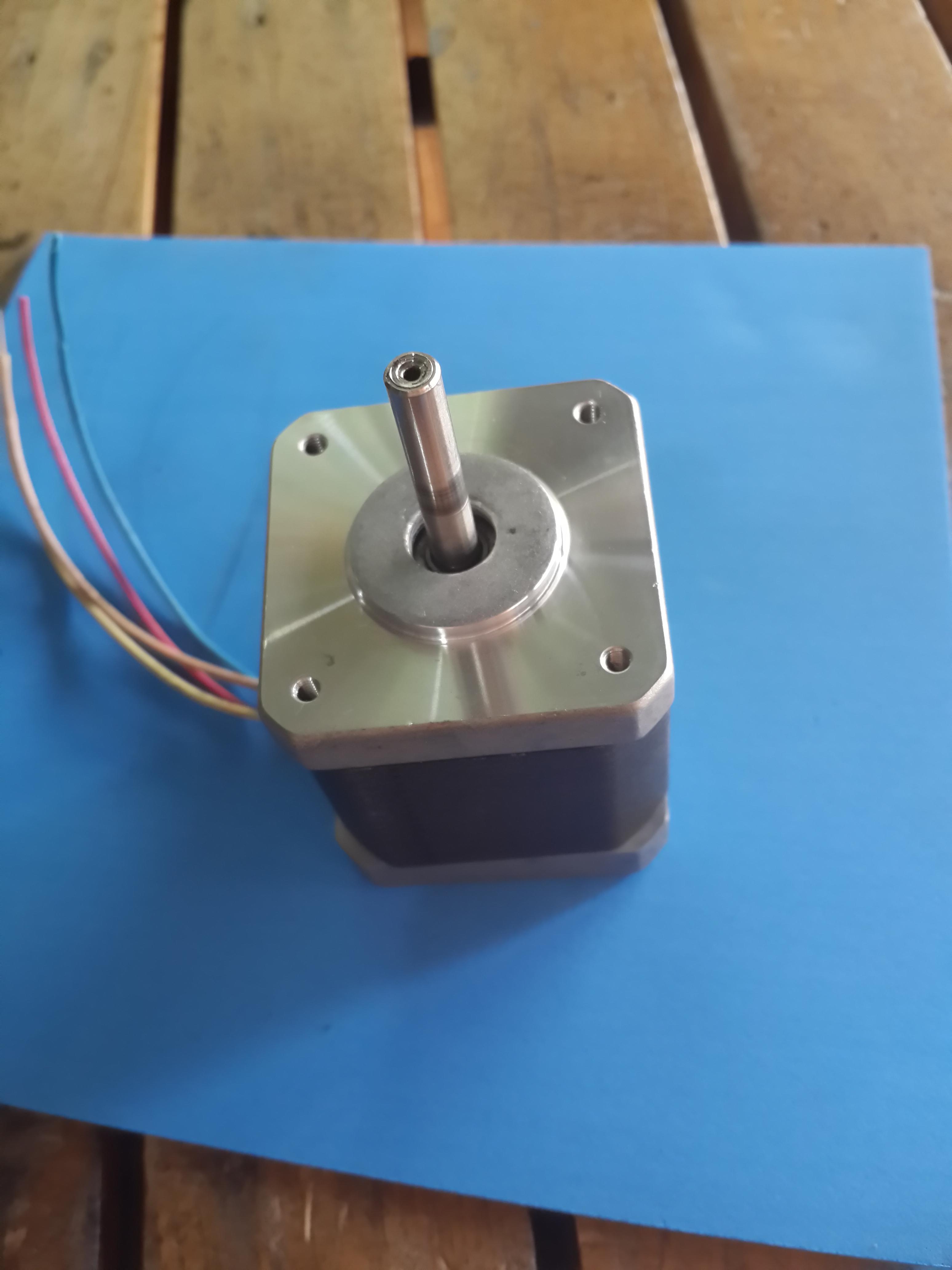 Nema 17 Stepping Motor Model 17hd6404 01n Moons Rubber Dampers For 3dprinter Goldgear