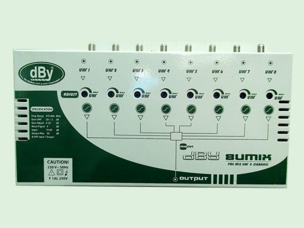 COMBINER 8U MIX DBY (MIX UHF 8 CH.)