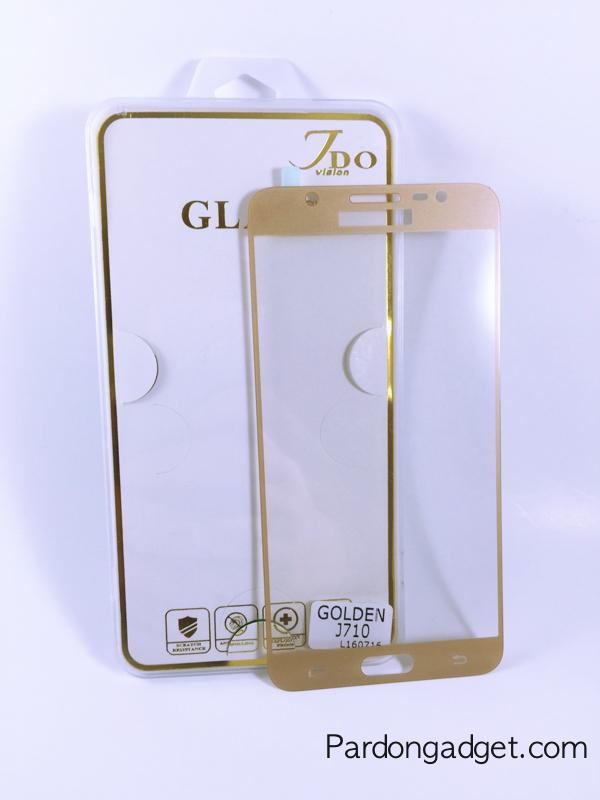 ฟิล์มกระจกเต็มจอ J7(2016) สีทอง