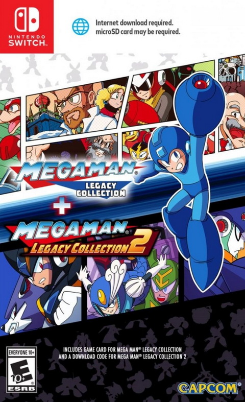 Switch- Mega Man Legacy Collection 1 + 2