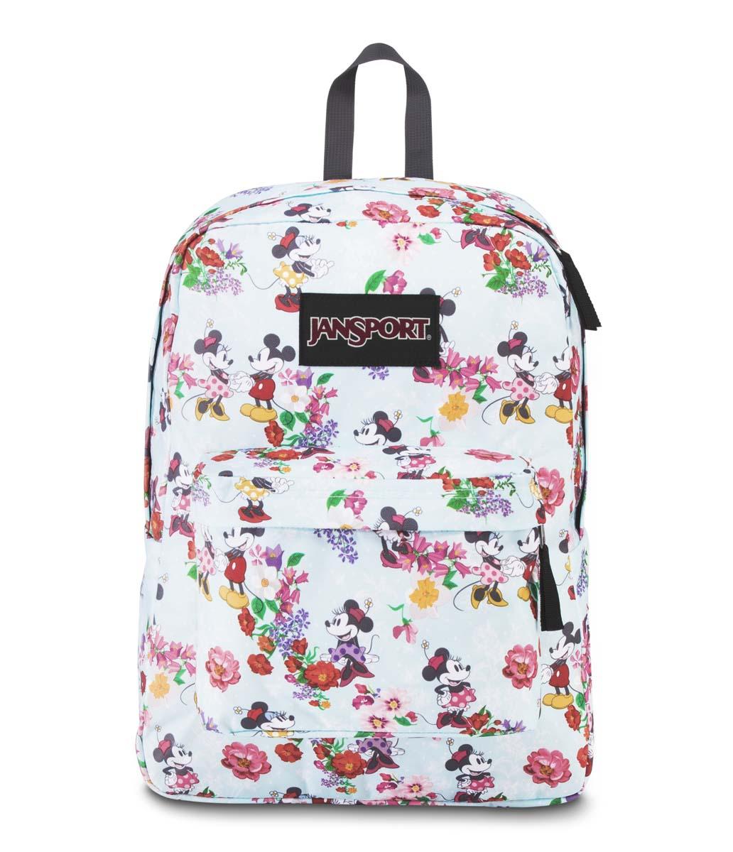 JanSport กระเป๋าเป้ รุ่น Superbreak - Disney Blooming Minnie