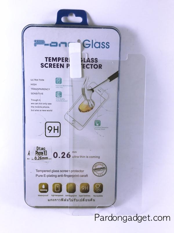 ฟิล์มกระจก Dtac Phone X3