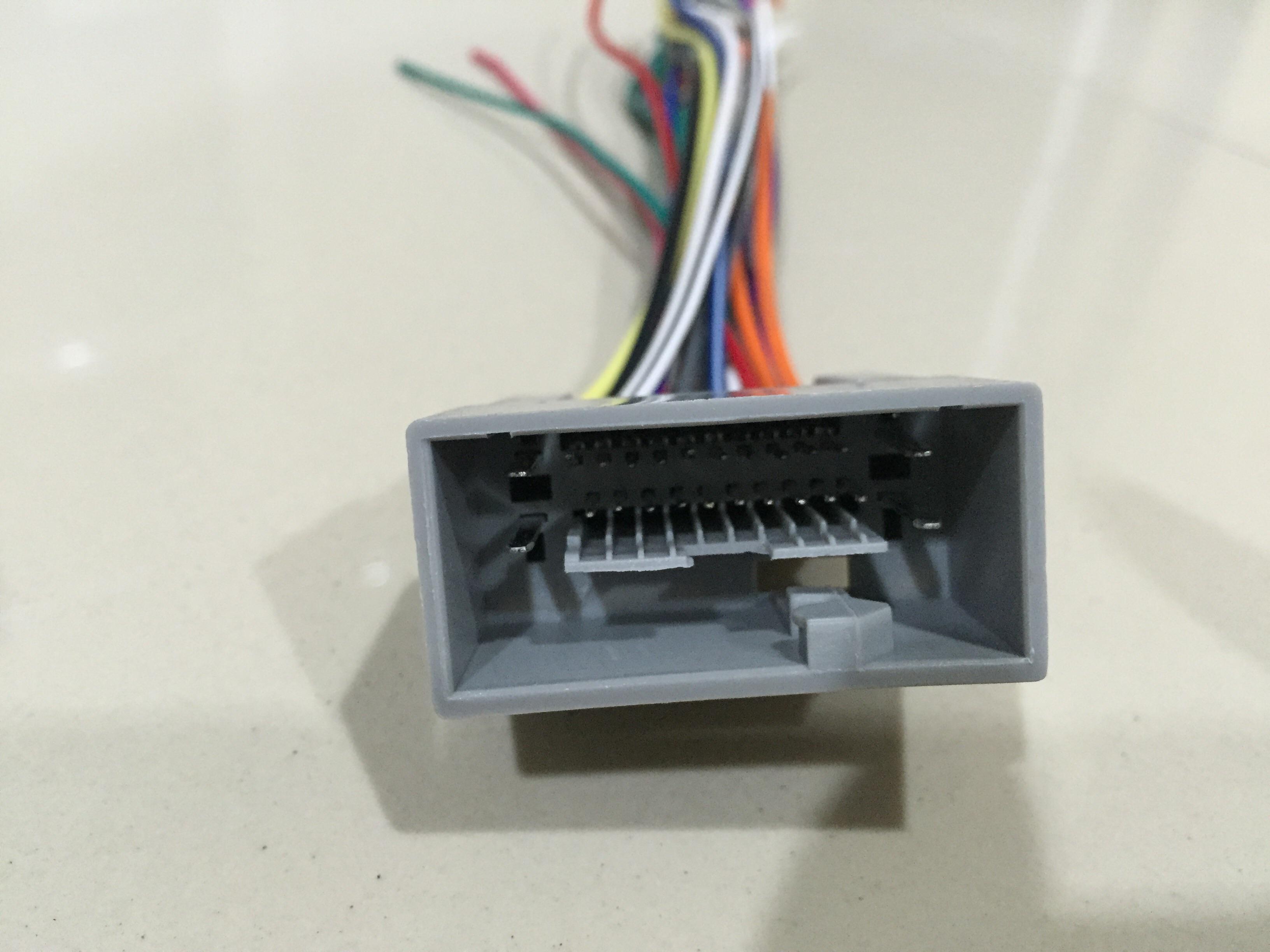 ปลั๊กHonda 24 pin (ตัวผู้) สำหรับรถตั้งแต่ปี 2011-2015