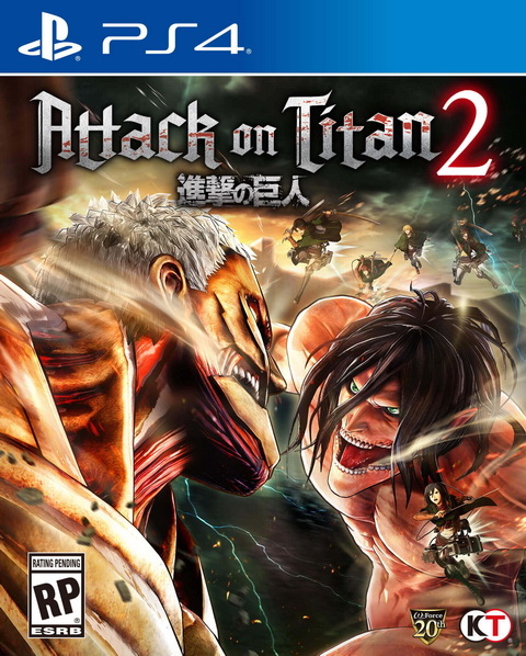 PS4- Attack on Titan 2