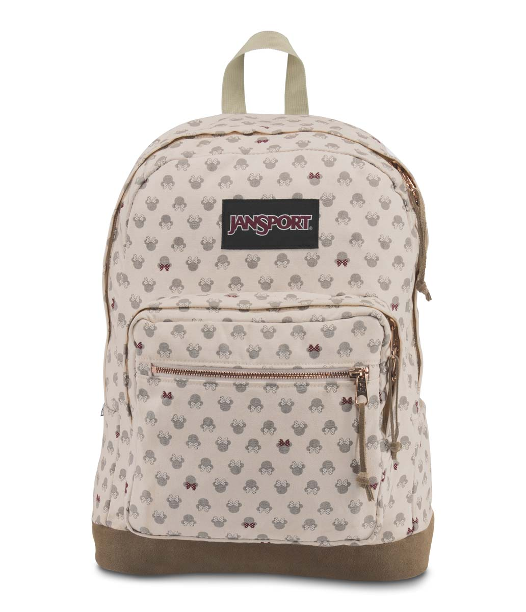 JanSport กระเป๋าเป้ รุ่น Right Pack Expressions - Disney Luxe Minnie
