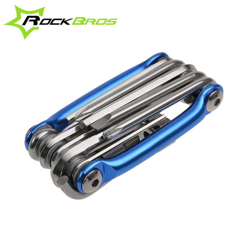 เครื่องมือซ่อมจักรยานแบบพกพา ROCKBROS (11in1)