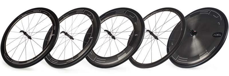 ล้อรุ่นต่างๆ ของ HED Wheels