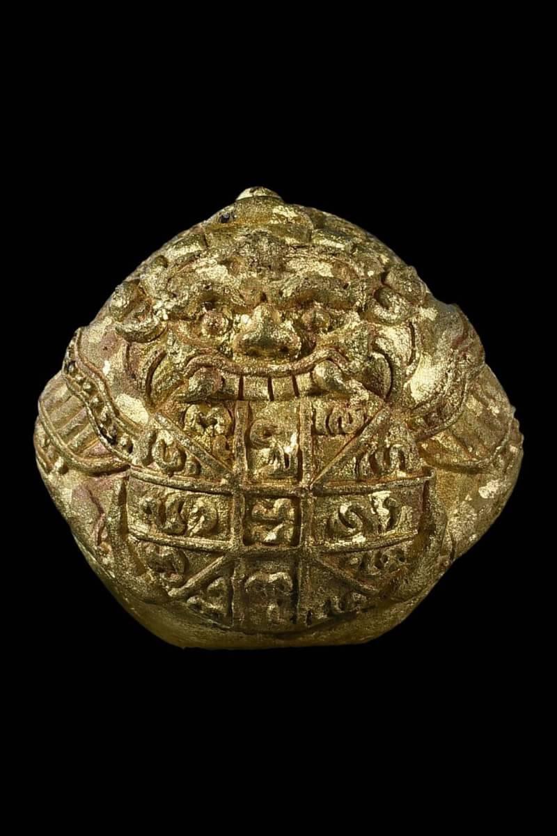 ราหูกินทอง คะนองเมือง รุ่นแรก เนื้อใบพัดเรือเหลืองเกล็ดกระดี่