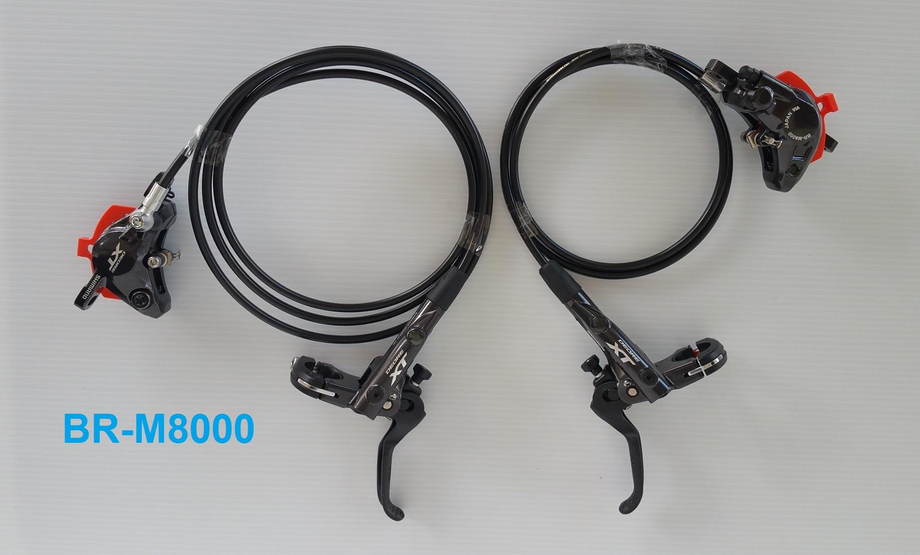 ดิสเบรค Shimano XT BR-M8000 สีดำ