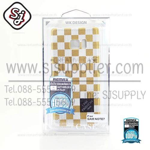 เคสซัมซุง Note7 Balle TPU (CL0096)-WK