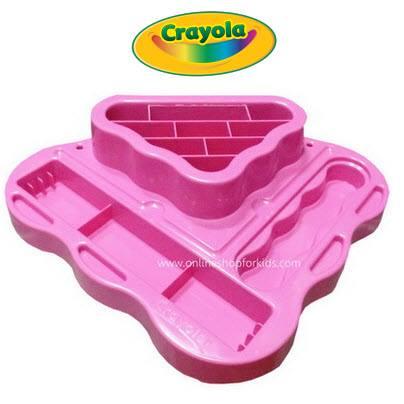 ถาดจัดเก็บสีให้เป็นระเบียบ Crayola Oraganizer Tray, Pink (ไม่มีแพ็คเกจ)