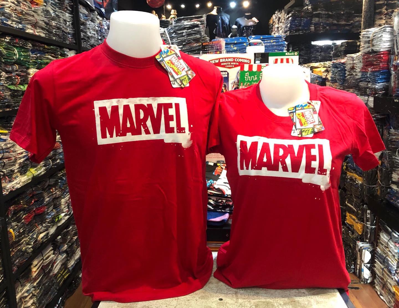 มาร์เวล สีแดง ( Marvel logo red CODE:1251)